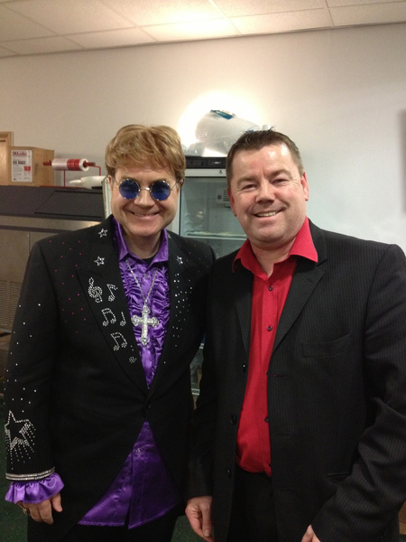 Andy the Wedding Magician with Elton John